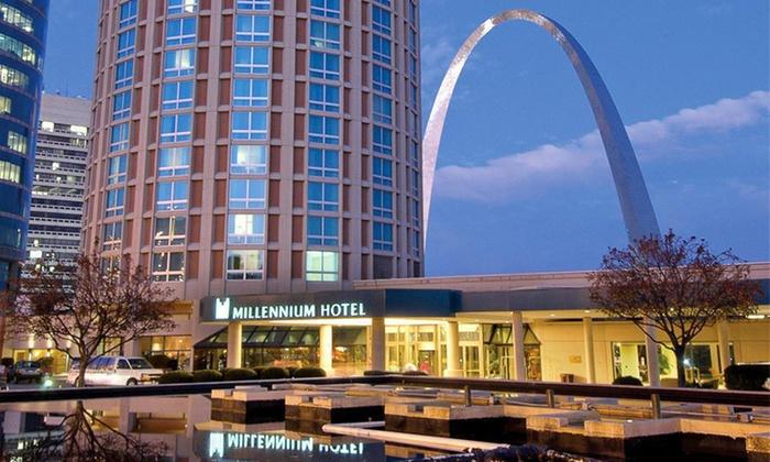 Millennium Hotel St. Louis - Downtown St. Louis: One- or Two-Night Stay at Millennium Hotel St. Louis in St. Louis, MO