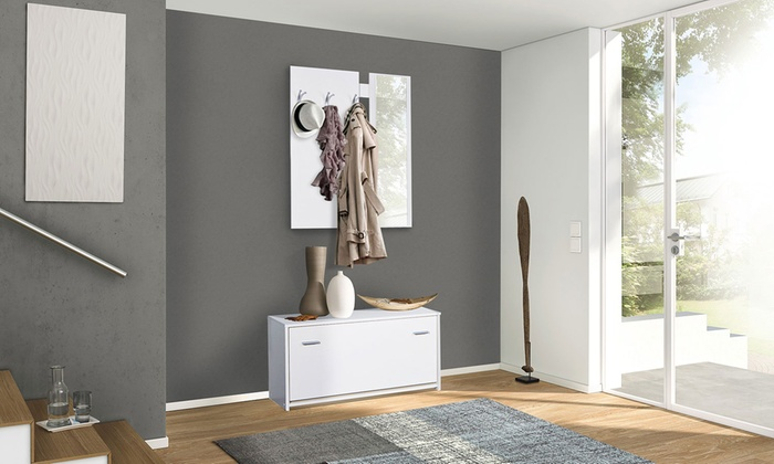 Mobili ingresso con scarpiera groupon goods - Mondo convenienza mobili per ingresso ...