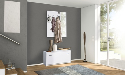 Mobili per ingresso con scarpiera design casa creativa e for Groupon armadio