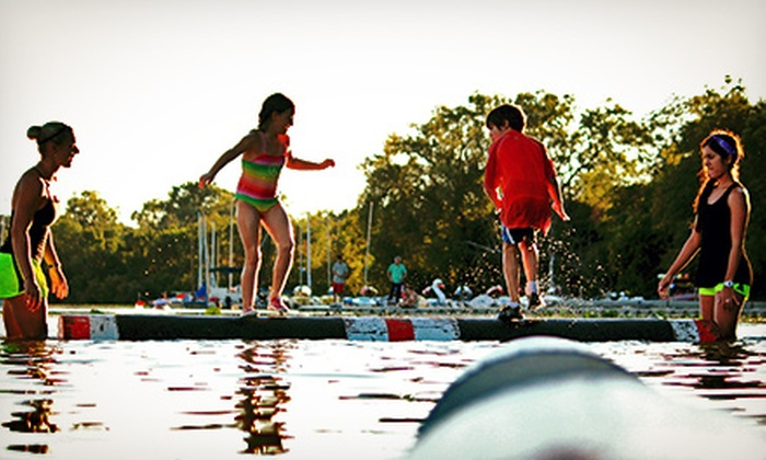 Madison Log Rolling - Wingra Canoe and Sailing Center: 6 or 10 Beginner Log-Rolling Classes at Madison Log Rolling (Up to 67% Off)
