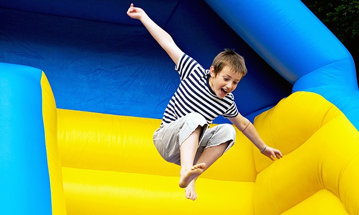 Desert Snow Shaved Ice - Phoenix: $169 for Bounce-House Rental with Concession Machine from Desert Snow Inflatables ($387 Value)