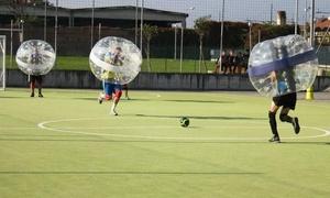 Bubble Football: Mezz'ora di bubble football da 8 a 16 persone da Crashing balls (sconto 50%). Valido in 2 sedi