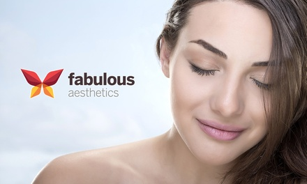 $18 for a 90-Min Dermalab, SRS Skin, or Collagen Facial  at Fabulous Aesthetics (worth $1,200). More Options Available