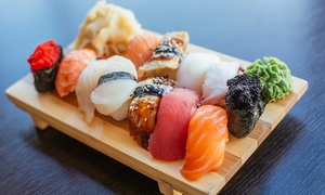 The Big Wok: All-You-Can-Eat Sushi with Teppanyaki and Chinese Buffet for One or Two at Big Wok (Up to 46% Off)