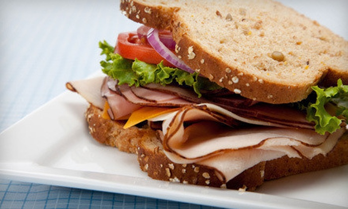 The Grape Tray - Hoover: Sandwiches and Fountain Drinks or Glasses of Wine for Two at The Grape Tray (Up to 54% Off)