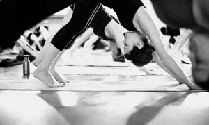 Moksha Yoga: One- or Two-Month Yoga Pass at Moksha Yoga Thornhill & North York(80%Off)