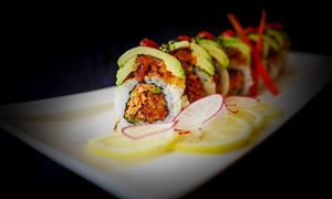 Salt Sushi: Sushi for Two or Four at Salt Sushi (Up to 42% Off)