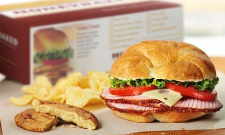Sandwiches and Cookies for Two or Four at HoneyBaked Ham (40% Off)