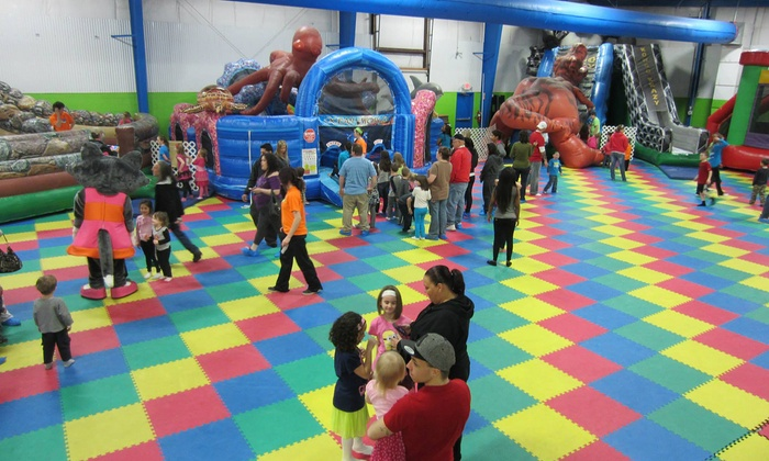 The Jump Yard - North Royalton: One-Day Play Pass, Teen Dance Night Entry, Summer Pass, or VIP Party at The Jump Yard (Up to 50% Off)