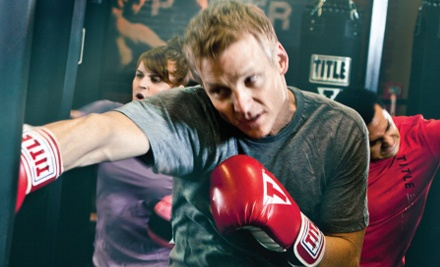 Two Weeks or One Month of Unlimited Kickboxing Classes at Title Boxing Club - Downers Grove (62% Off)