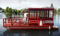 6 Std. Floßmiete für bis zu 8 Personen von Müggelspree Floß Köpenick (bis zu 44% sparen*)