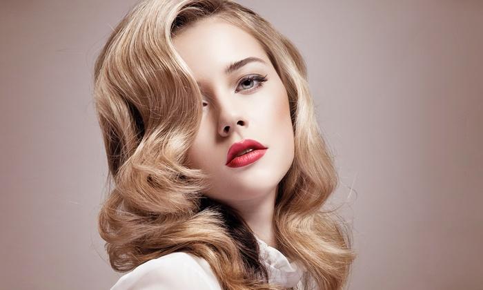 Nouveau salon de coiffure addict addict groupon - Coupe shampoing brushing prix ...