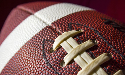 College Football Game and Memorabilia Package for Two or Four on September 6 (Up to 53% Off)