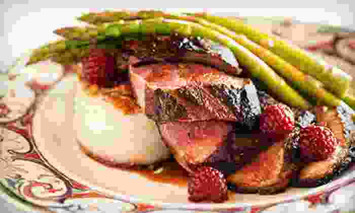 The Epicurean Bistro & Wine Bar - Latham Farms Shopping Mall: French Cuisine for Dinner for Two on Tuesday–Thursday or Friday–Saturday at The Epicurean Bistro & Wine Bar (50% Off)