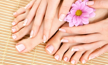 One or Three Manicures and Spa Pedicures at Nails by Michaela Bay (Up to 61% Off)
