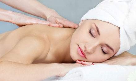 One or Three 60-Minute Swedish Massages with Scalp-Therapy Treatments at Farashé The Day Spa (Up to 57% Off)