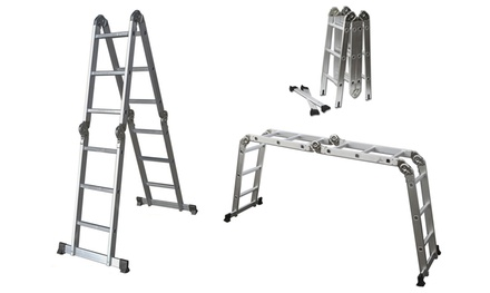 12' Lightweight Multi-Purpose Folding Ladder