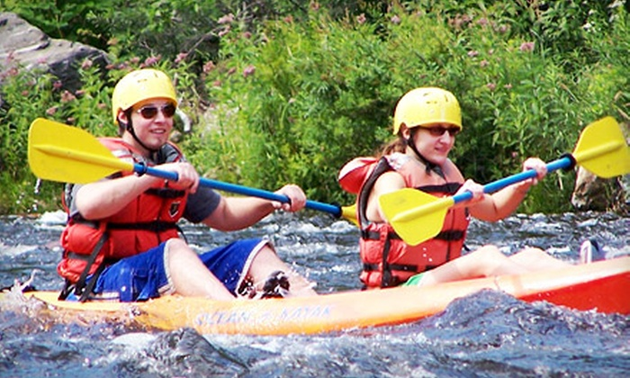Zoar Outdoor - Charlemont: $49 for a Guided Kayak Rental for Two from Zoar Outdoor (Up to $78 Value)