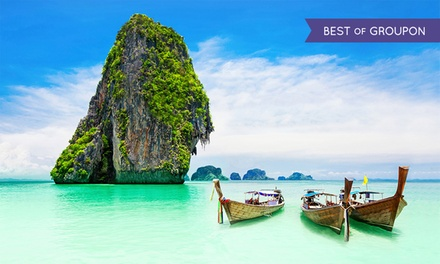 ✈ 10-Day Thailand Tour with Airfare. Price per Person Based on Double Occupancy. (Buy 1 Groupon/Person).