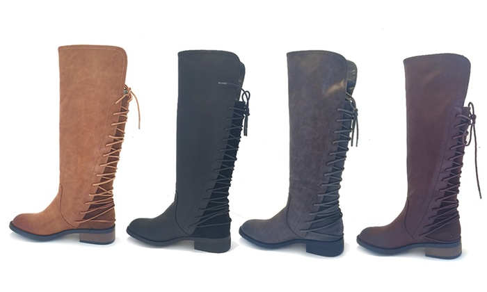 Women's Bucco Marconi Knee-High Boots (Sizes 6, 6.5, 7.5)   Groupon
