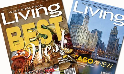 "image for One- or Two-Year Subscription to ""West Suburban Living"" Magazine (Up to 50% Off)"