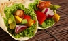 The Blu Grouse - Georgetown: Healthy Wraps, Salads, and Flatbreads with Drinks at The Blu Grouse (Half Off). Two Options Available.