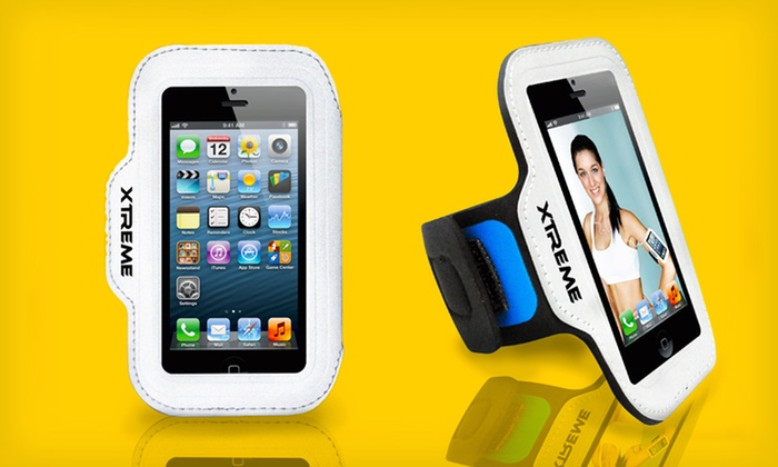 Xtreme Neoprene Reflective iPhone Band: $9.99 for an Xtreme Neoprene Reflective Band for iPhone ($24.99 List Price). Free Returns.