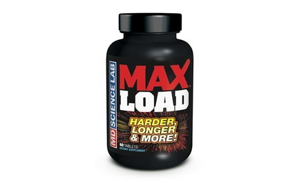 Max Load Ejaculate Volumizer Supplements; One-Month Supply