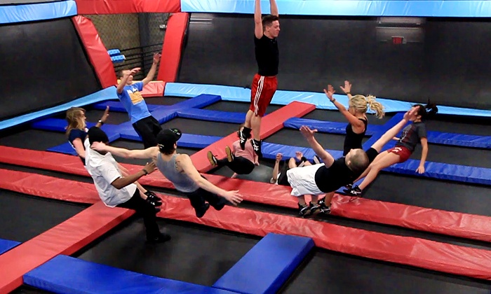 Defy Gravity - La Vista: Two, Four, or Eight Groupons, Each Good for One Jump Session at Defy Gravity  (Up to 52% Off)