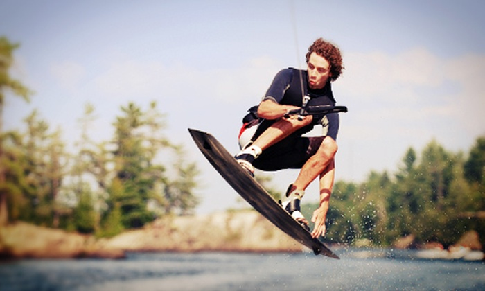TJS Wake School - Westport: Three-Hour Wakeboarding Lesson for One or Up to Three at TJS Wake School at Lake Norman (Up to 62% Off)