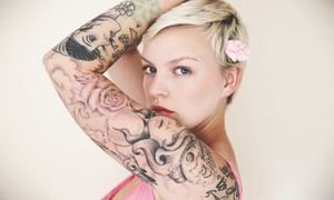 DAMM NICE TATTOOS & FINE ART: $199 for Tattoo Services for Up to Four Hours at Damn Nice Fine Art & Tattoo ($480 Value)