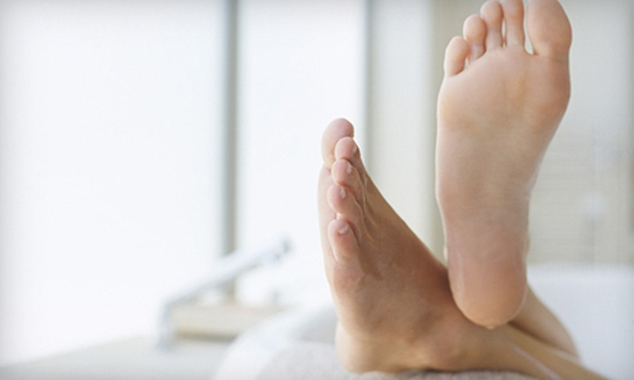 Global Podiatry of NJ - Morganville: Laser Toenail Fungus Removal for One or Both Feet at Global Podiatry of NJ in Morganville (Up to 59% Off)