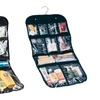 Trend Matters Hanging Cosmetic and Grooming Travel Bag