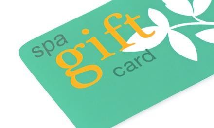 $50, $100, and $200 Spa Gift Cards at Define Spa (Up to 51% Off)