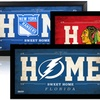"NHL 10""x20"" Home Sweet Home Signs"