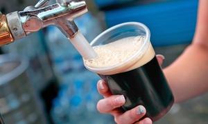 Shaka Brew: Degustazione di 3 birre artigianali a testa, con appetizer, per 2 o 4 persone da Shaka Brew (sconto fino a 56%)