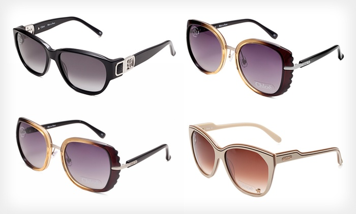 Chloé Women's Sunglasses: $79.99 for a Pair of Chloé Women's Sunglasses ($355 List Price). Multiple Styles Available. Free Shipping and Returns.