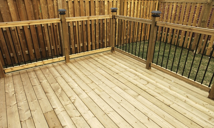 1-888-Stain-Arkansas.com - Little Rock: $125 for Fence or Deck Cleaning and $100 Off Staining from 1-888-Stain-Arkansas.com ($350 Value)