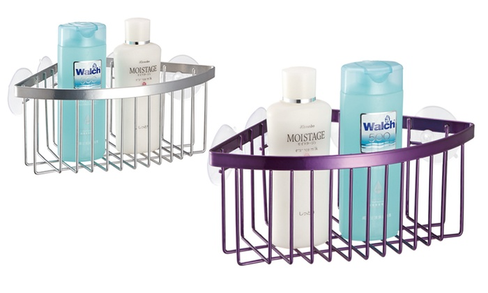 Corner Shower Caddy With Suction Cups: Corner Shower Caddy With Suction Cups  ...