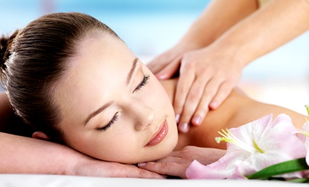 60-Minute Massage or Facial, or Spa Package with Massage, Facial, and Mani-Pedi at Le Nu Spa (Up to 65% Off)