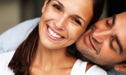 Laser Teeth Whitening with a Dental Consultation and Check-Up at VidaDent (81% Off)