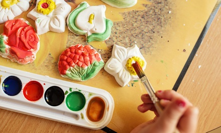 CeramicPainting Session for Two or Four with All Supplies at Let's Paint (Up to 51% Off)
