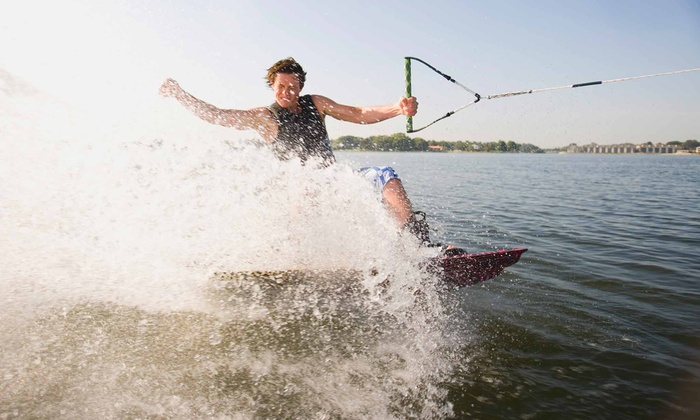Wake Lanier - Multiple Locations: Five-Day Wakeboarding Camp or a Two-Hour Lesson for One or Two at Wake Lanier  (Up to 59% Off)