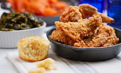image for $12 for Two vouchers, Each Good for $10 Worth of Barberton Fried Chicken at Hopocan Gardens ($20 Value)