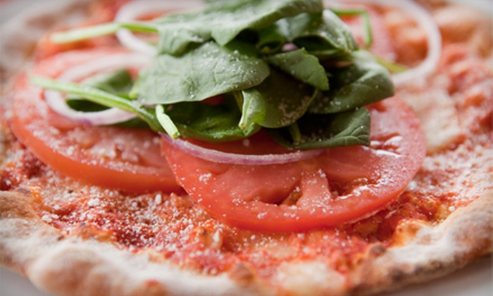 Cha Cha Pizza - Highland Meadows: Specialty Pizza, Pasta, and Oven-Baked Sandwiches at Cha Cha Pizza (Half Off). Two Options Available.