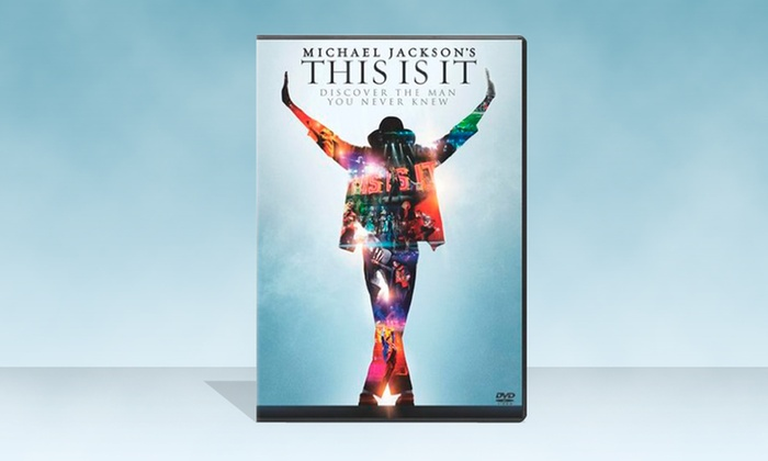 Michael Jackson's This Is It DVD: $4.99 for Michael Jackson's This Is It DVD ($14.99 List Price). Free Returns.