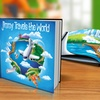 "Up to 65% Off ""Travels the World"" Personalized Kids Book"