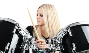 American One Productions: $44 for Four Private Drum Lessons at American One Productions ($140 Value)