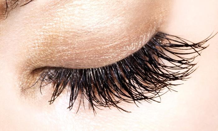 Salon La De Da - Middletown: Full Set of Natural or Mink Eyelash Extensions at Salon La De Da (Up to 68% Off)