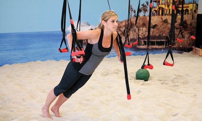 Baja Body Athletic Club - Townsite: 5 or 10 AntiGravity or Sand Fitness Classes at Baja Body Athletic Club (51% Off)